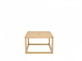 Konferenční stolek Modai LAWA 63 x 63 cm - dub polský č.8
