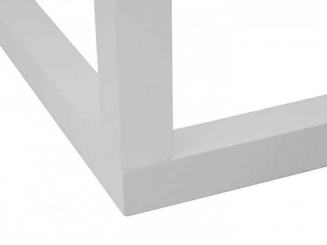 Konferenční stolek Modai LAWA 63 x 63 cm - bílá č.3