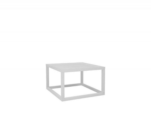 Konferenční stolek Modai LAWA 63 x 63 cm - bílá č.1