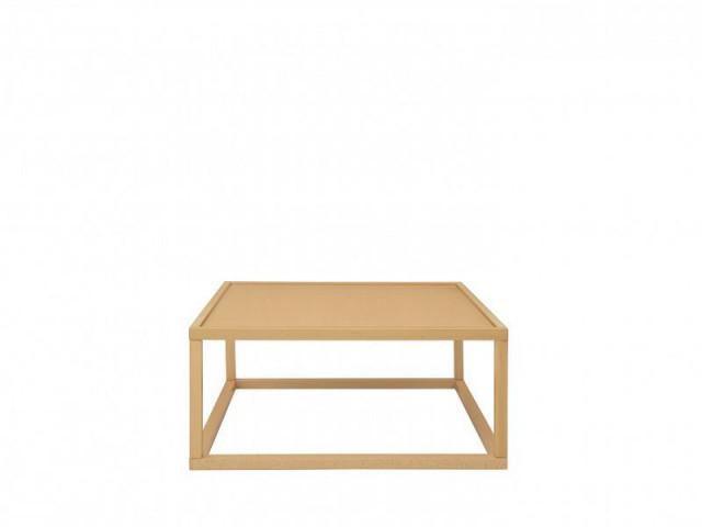 Konferenční stolek Modai LAWA 83 x 83 cm - dub polský č.1