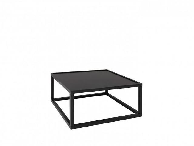 Konferenční stolek Modai LAWA 83 x 83 cm - černá č.2