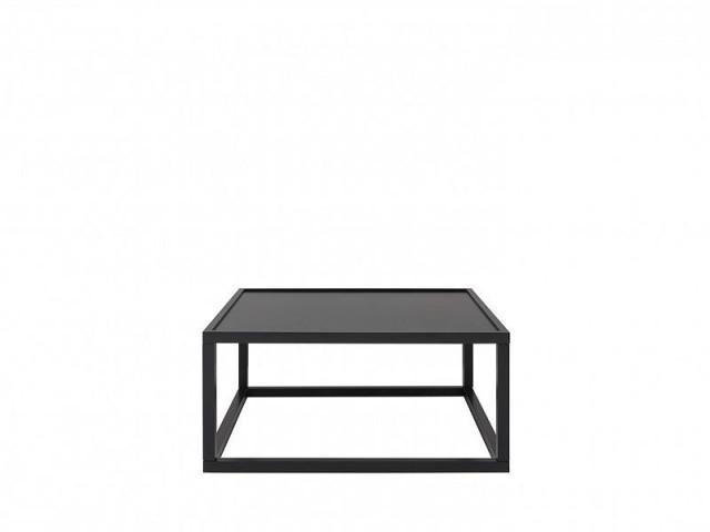 Konferenční stolek Modai LAWA 83 x 83 cm - černá č.1