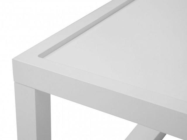 Konferenční stolek Modai LAWA 83 x 83 cm - bílá č.4