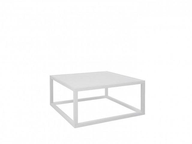 Konferenční stolek Modai LAWA 83 x 83 cm - bílá č.2