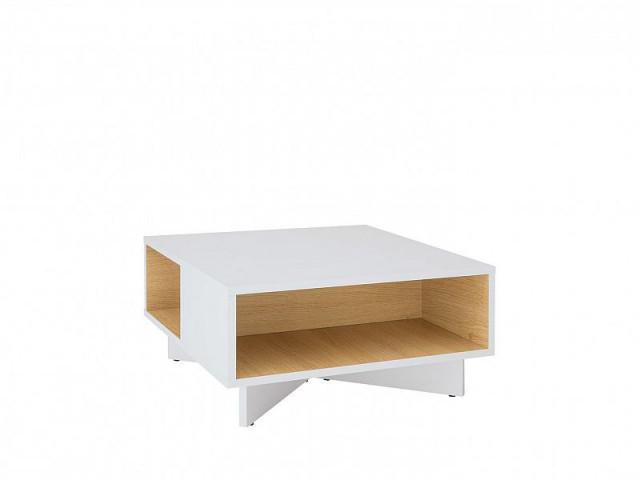 Konferenční stolek Modai LAW/3/6 - bílá Canadian/dub polský č.3