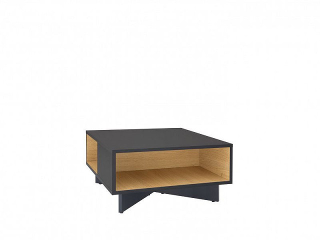 Konferenční stolek Modai LAW/3/6 - černá antracit/dub polský č.3