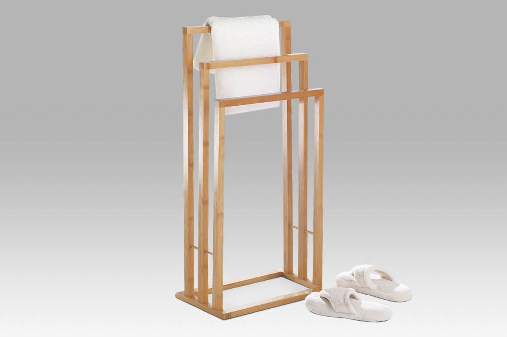 Stojan na ručníky bambusový DR-039