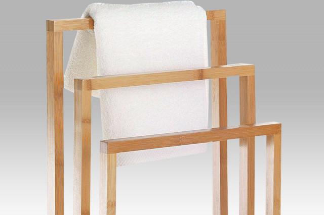Stojan na ručníky bambusový DR-039 č.2