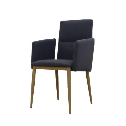 Jídelní židle JENNER - šedá / černá
