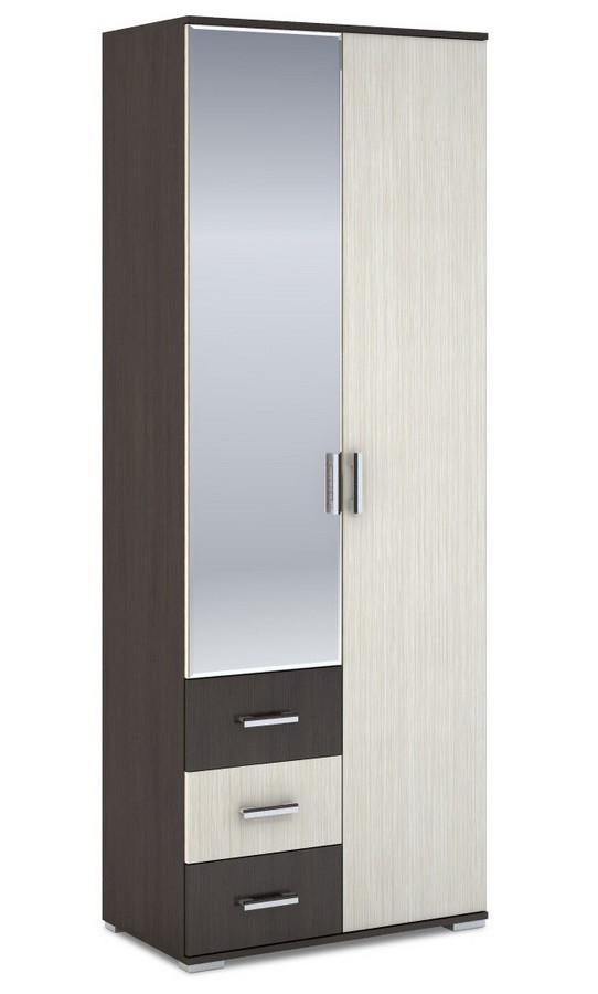 Casarredo Šatní skříň 2-dveřová ROCHEL 45 cm belfort/wenge
