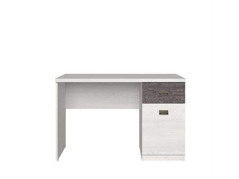 Psací stůl Namur BIU1D1S - modřín sibiu světlý/sentences šedá
