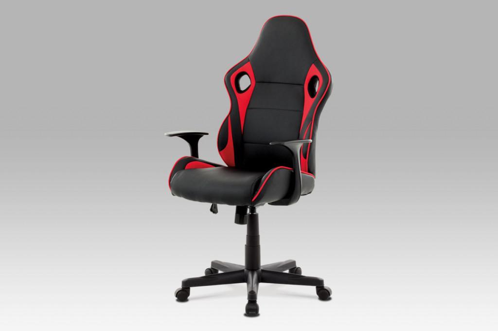 Kancelářská židle KA-E807 RED