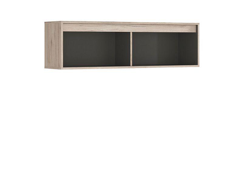 BRW Závěsná skříňka Ronse SFW/120 - dub san remo světlý/šedý wolfram