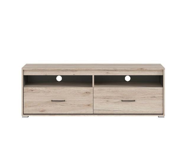 Televizní stolek Ronse RTV2S - dub san remo světlý/šedý wolfram č.1
