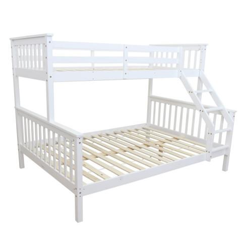 Patrová rozložitelná postel BAGIRA - bílá