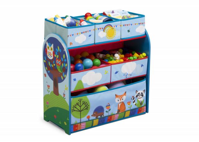 Organizér na hračky Lesní zvířátka