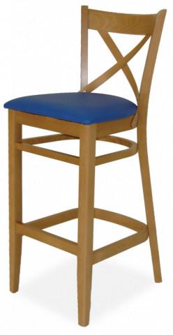 Barová židle B010-P BAR LÁTKA