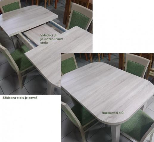 Stůl Udine - ILUSTRAČNÍ FOTOGRAFIE