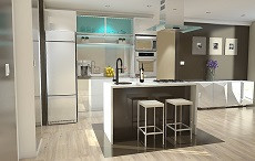 Jak vypadá moderní kuchyňská linka?
