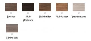 Jídelní stůl Adria rozkládací - moderní odstíny č.4