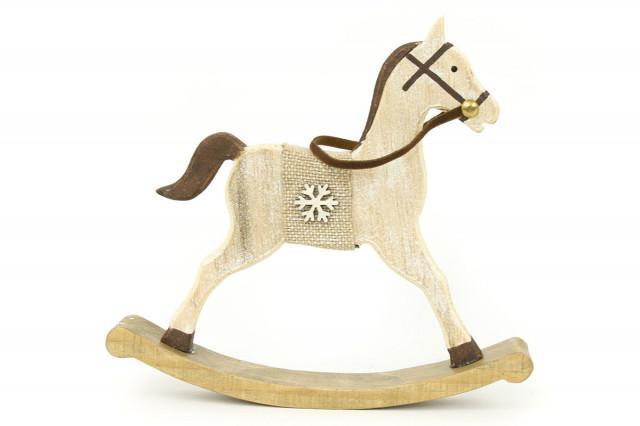Dřevěný kůň ZA8603