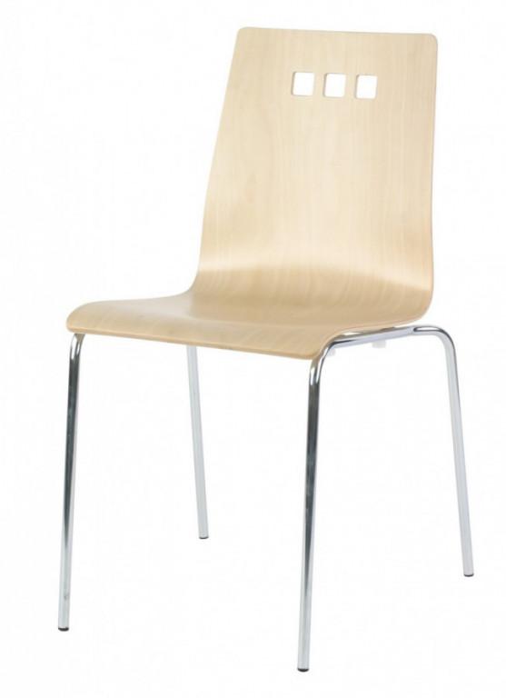 Židle Mirka podnož chrom