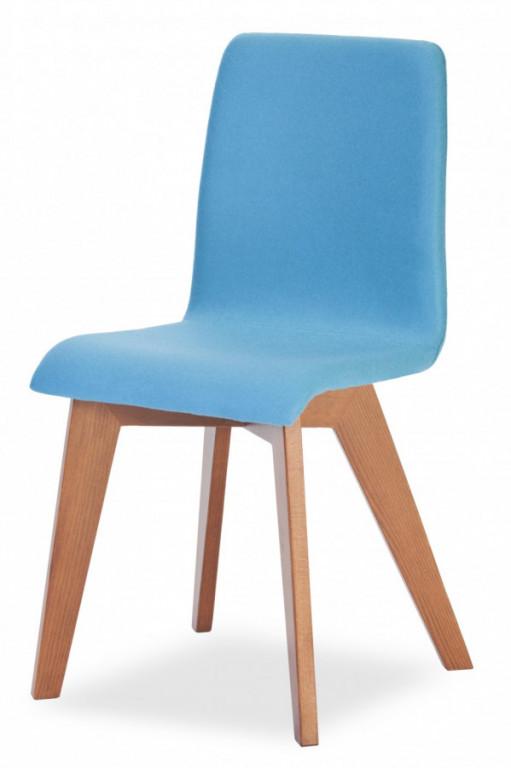 Jídelní židle Mirka podnož buk - celočalouněná