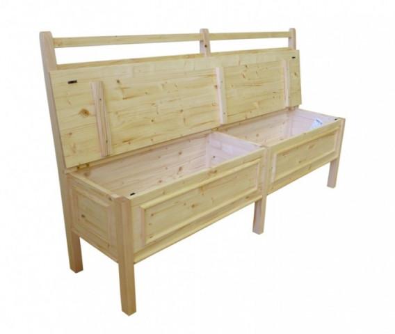 Dřevěná lavice Classic 00512 č.3