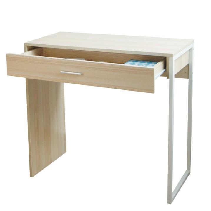Tempo Kondela PC stůl AVARD - přírodní buk + kupón KONDELA10 na okamžitou slevu 3% (kupón uplatníte v košíku)