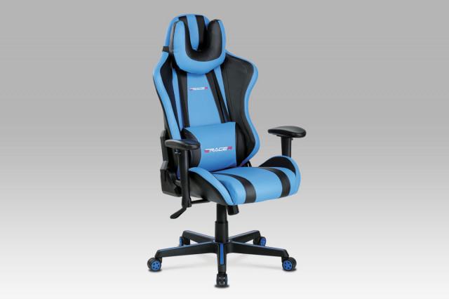 Kancelářská židle KA-V609 BLUE