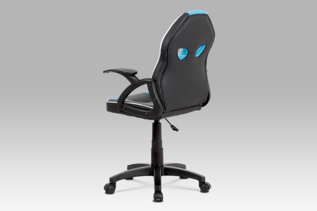 Dětská kancelářská židle KA-N664 BLUE č.2