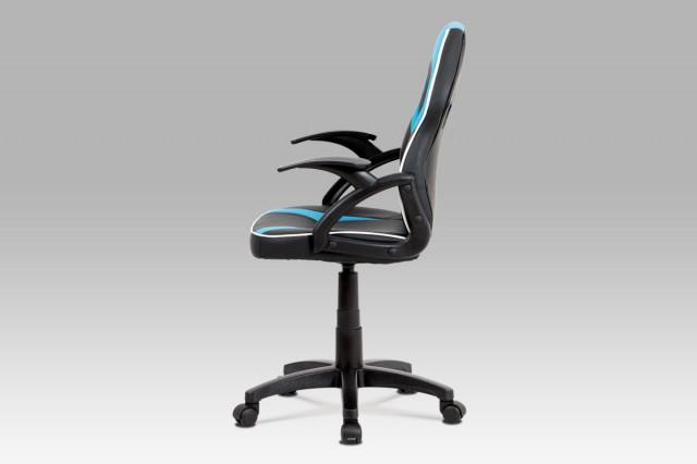 Dětská kancelářská židle KA-N664 BLUE č.3