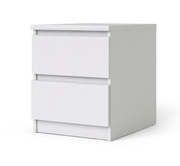 Falco Noční stolek Simplicity 2s bílý