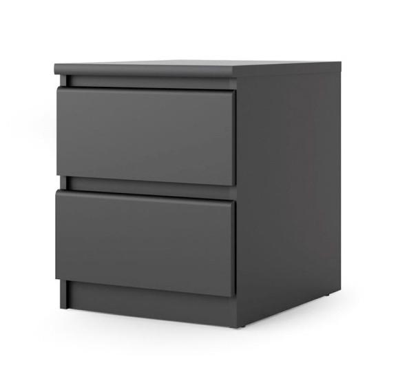 Falco Noční stolek Simplicity 2s černý MAT