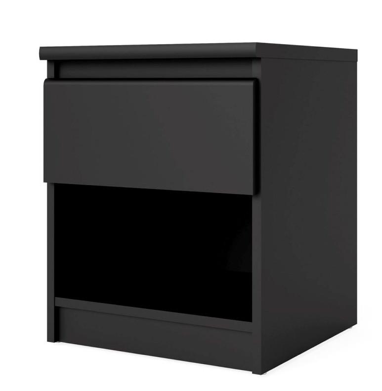 Falco Noční stolek Simplicity 082 černý MAT