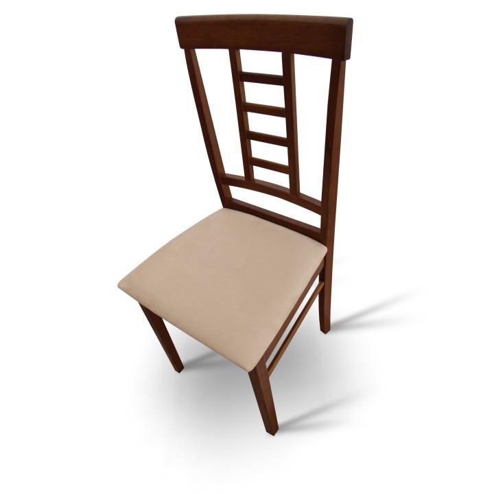 Tempo Kondela Jídelní židle OLEG NEW - ořech / béžová + kupón KONDELA10 na okamžitou slevu 3% (kupón uplatníte v košíku)