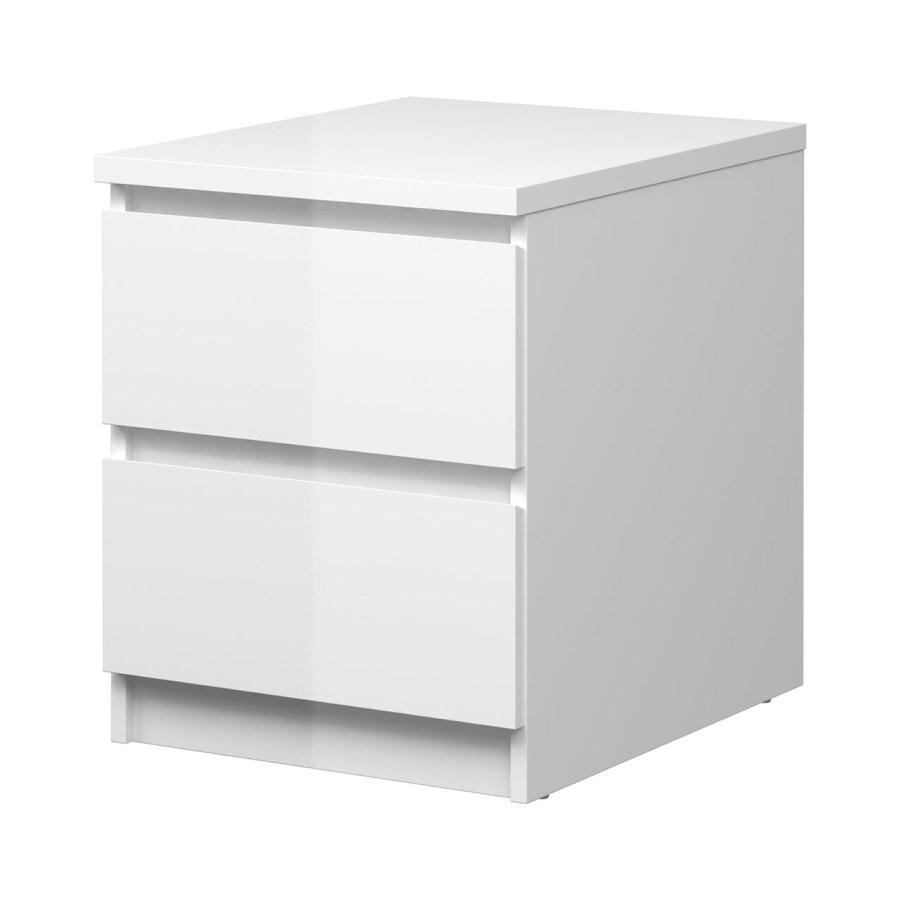 Falco Noční stolek Simplicity 230 bílý lesk