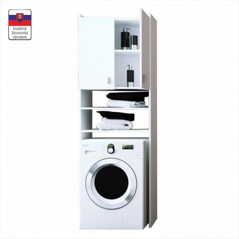 Skříňka nad pračku NATALI - bílá