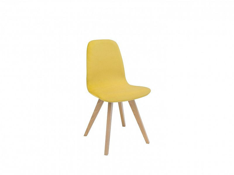 Jídelní židle Azteca ULTRA TX069 - dub sonoma/TK Amore 28 yellow