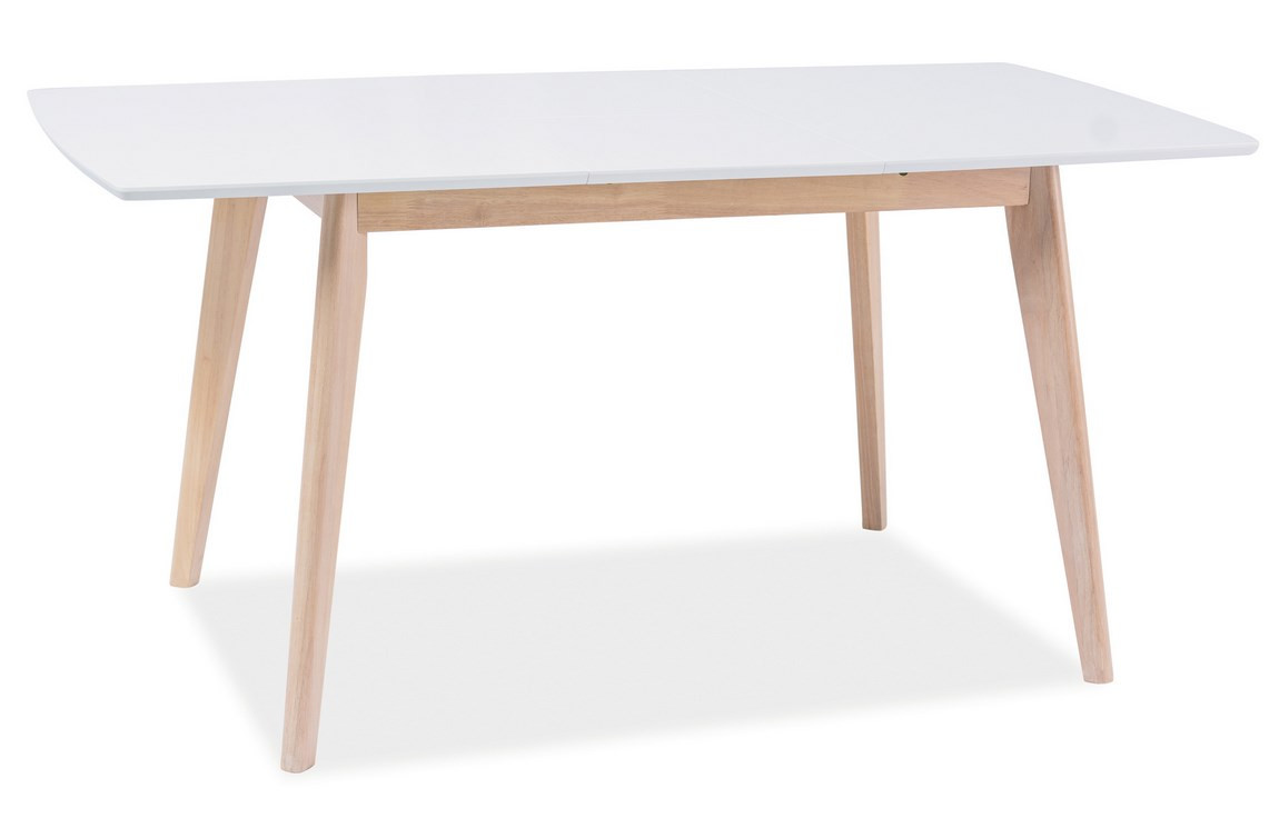 Casarredo Jídelní stůl rozkládací COMBO II bílá/dub