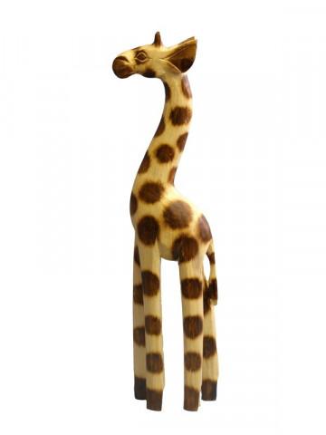 Dřevěná dekorace žirafa GB46-40