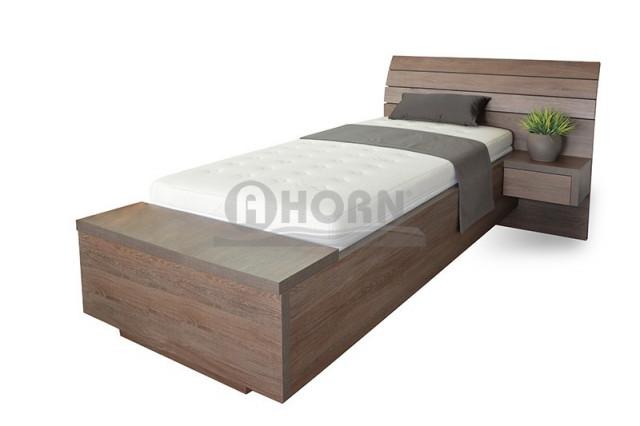 Postel jednolůžková Salina box (bez nočních stolků)