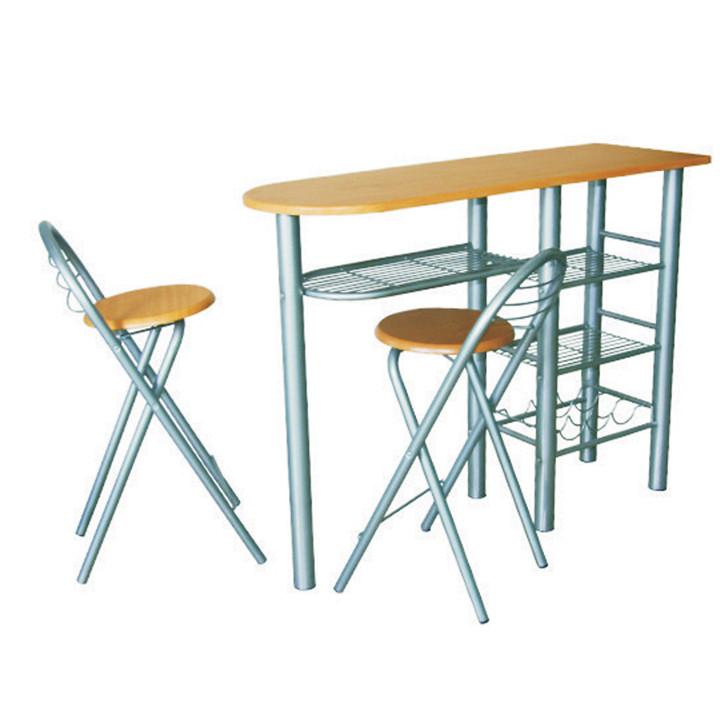 Tempo Kondela Barové židle + barový pult, BOXER + kupón KONDELA10 na okamžitou slevu 3% (kupón uplatníte v košíku)