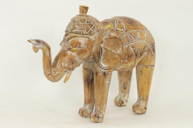 Dřevěný slon TAKSU-80