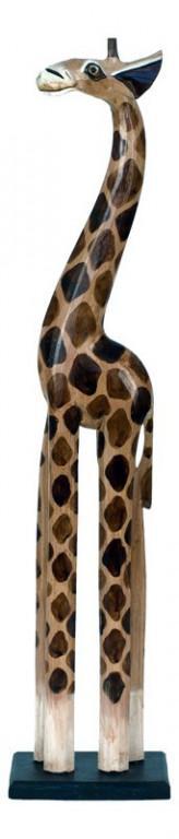 Dřevěná žirafa IND-OBR010-80