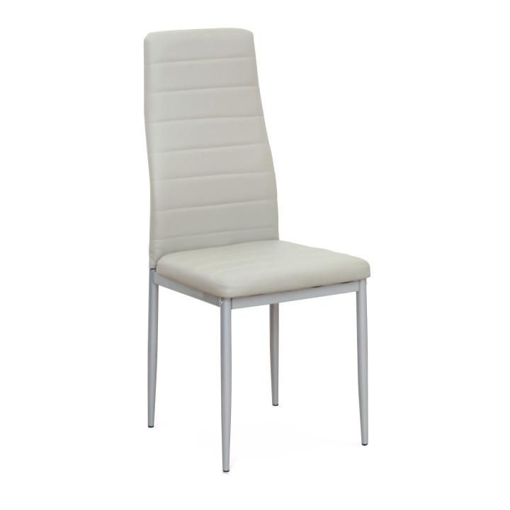 Tempo Kondela Židle COLETA NOVA - šedá ekokůže + kupón KONDELA10 na okamžitou slevu 3% (kupón uplatníte v košíku)
