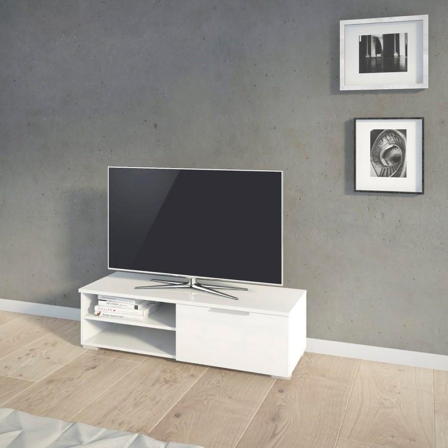 Falco TV stolek Mateo 066 bílý lesk