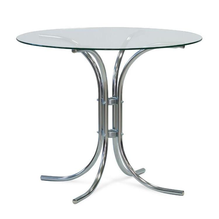 Jídelní stůl Ravenna (podnož + deska sklo)