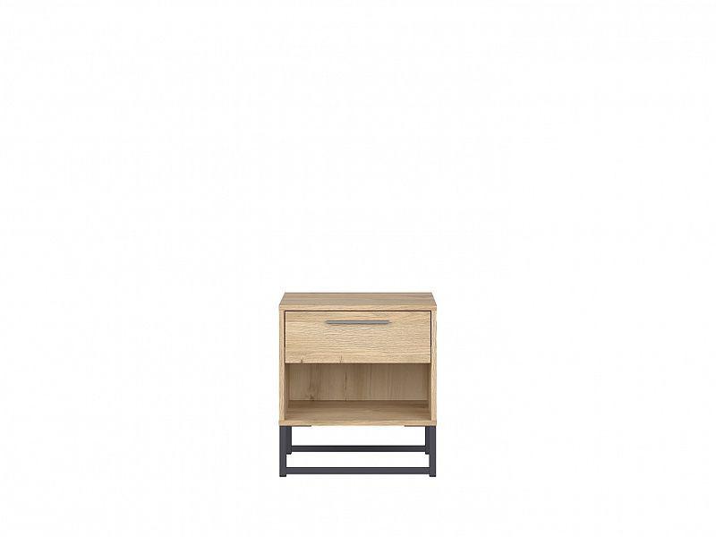 Noční stolek Gamla KOM1S - dub Grandson