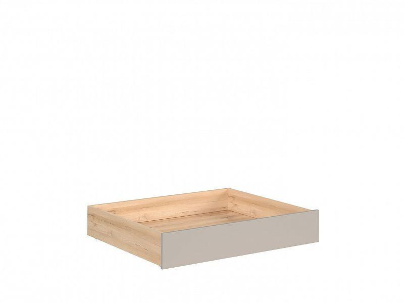 Šuplík pod postel Namek SZU - buk iconic/šedá